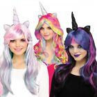 Unicorn Wig Adult Womens Halloween Fancy Dress
