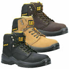 Mens Caterpillar Striver Boots Safety Work Steel Toe Cap Safety Leather  UK 6-12