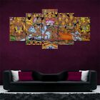 Indian+God+Art+Split+5+Frames+Wall+Panels+for+Living+Room+%23158+-+HKTPIC-AU