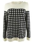 Charter Club Women's Plaid Houndstooth Sweater