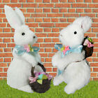 Mr & Mrs Bunny Standing - Easter Bunny -  Rabbit Decorations Celebration Set