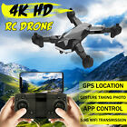 5.8G 4K  Wifi HD Camera Folding RC Drone FPV Quadcopter Attractive Photo Gesture GPS