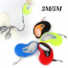 3/5M Dog Leash Retractable Extending Pet Leashes Dog Collars Walking Dog Leads