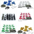 Complete Fairing Bolt Screws Kit Fit For Kawasaki Ninja 300 250 ZX6R 7R 9R 10R $18.98 USD on eBay