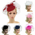 Fascinators Hat Women Tea Party Headband Derby Wedding Cocktail Hair Clip Large