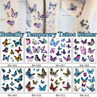 Waterproof Watercolor Taty 3D Fake Tattoos Temporary Tattoo Body Art Sticker $0.77 USD on eBay