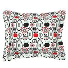 Kitchen Drawing Eggplant Apple Fruit Retro Garden Pillow Sham by Roostery