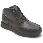 New Men's Rockport Edge Hill 2 Waterproof Moc Leather Boots MSRP $175