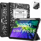 """For iPad Pro 11"""" 2020/2018 SlimShell Case Soft TPU Back Stand Cover Auto Wake"""