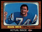 1966 Topps #128 Ron Mix Chargers USC 7 - NM $25.5 USD on eBay