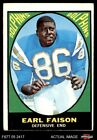 1967 Topps #75 Earl Faison Dolphins Indiana 2 - GOOD $10.0 USD on eBay