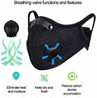 Air Purifying Face Mouth Washable Anti Fog Fog Cycling Outdoor Lot Safety