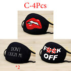 Cotton Printed Mask Face Mouth Washable Anti Fog Cycling Outdoor Filter Masks