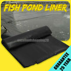 Fish Pond Liner 2/3/4/5M Reinforced HDPE Heavy Duty 25 Year Guaranty Landscaping