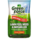 Greenforce Weed, Feed & Moss Killer [15kg] | *EXCELLENT VALUE* 750m² Coverage