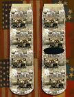 Battle of Bull Run American Civil War/War Between the States crew socks