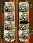 Battle of Cold Harbor American Civil War/War Between the States crew socks