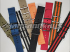 JaysAndKays® 22mm 2-Piece 3-Ring Classic Nylon Watch Strap Band image