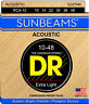 More images of Dr Handmade Sunbeams Fingerstyle Phosphor Acoustic Guitar Strings RCA10 RCA11