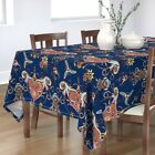 Tablecloth Steampunk Nautical Sea Monster Octopus Heart Valentine Cotton Sateen