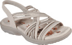 Women's Skechers Reggae Slim Simply Stretch Slingback Natural/Taupe