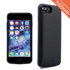 For iPhone 7 Plus 8 Plus Case External Battery Full Protective Cover MFI Certifi