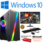 Fast Gaming Pc Computer Bundle Intel Quad Core I5 16gb 1tb Win 10 4gb Gtx1650