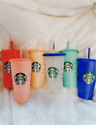 Kyпить Starbucks Color Changing Summer Pride 2020 COLD Reusable Cup Confetti Venti на еВаy.соm