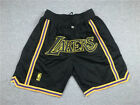 Pocket Los Angeles Lakers black MENS short pants NBA s-2xl on eBay