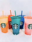 Kyпить ???? Starbucks Color Changing Summer Pride 2020 COLD Reusable Cup Venti ???? на еВаy.соm