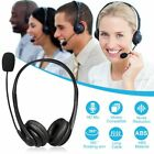 Hot USB Noise Cancelling Microphone Headset Call Centre Office Telephone Corded