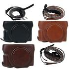 PU Leather Camera Protective Cover Case Bag for Sony RX100 M2/M3/M4/M5/M6 Canon
