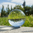 60/80/100mm Clear Glass Crystal Healing Ball Photography Lens Sphere Decor Gift.