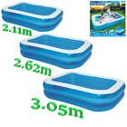 Paddling Garden Pool Kids Fun Family Swimming Outdoor Inflatable Baby Toddler 3m