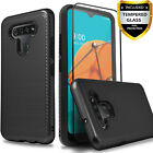 For LG Stylo 6 / K51 / Reflect Phone Case, Shockproof + Tempered Glass Protector