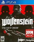 Wolfenstein: The New Order (PlayStation 4) - *FACTORY SEAL* Free Shipping