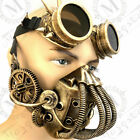 Respirator Gas Mouth Mask Steampunk Costume Burning man Party Bullet Goggles
