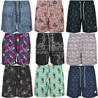 Urban Classics Pattern Swim Shorts AOP Badehose Beach Surf Board Wear Allover