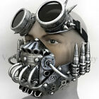 Mouth Mask Costume Burning man Respirator Goggles Bullet Survival Dress up Party