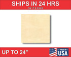 Unfinished Wood Square Shape - Craft - Up To 24