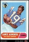 1968 Topps #193 Lance Alworth Chargers 5 - EX $34.5 USD on eBay