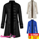 mens vintage steampunk costume tailcoat jacket gothic victorian frock coat suit
