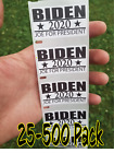 Biden 2020 Joe For President Stickers 25-500 Pack Politic Decal 2020 Election