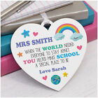 Lockdown Teacher Gifts PERSONALISED Rainbow Teaching Assistant Thank You Gifts