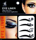 BeautyLand USA: #007 EYELINER TEMPORARY TATTOO, MAKE UP STICKER DECAL, EYE DIY $5.97 USD on eBay