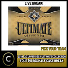 2019-20 UPPER DECK ULTIMATE HOCKEY 4 BOX HALF CASE BREAK #H830 - PICK YOUR TEAM $27.0 CAD on eBay