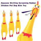Funny Yellow Screaming Chicken Squeeze Sound Toy Squeak Vent Chicken Tricky toy