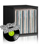 Vinyl Record Album LP Album Storage Cube Stackable Bookcase FREE SHIP ($35/Cube)