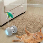 Cat Toys Interactive Automatic Electronic Ball W/Colorful Light Feather E1H7