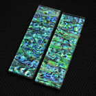 Abalone Shell Knife Handle Acrylic Scale Slab DIY Material Plate 140X30X6MM #w1